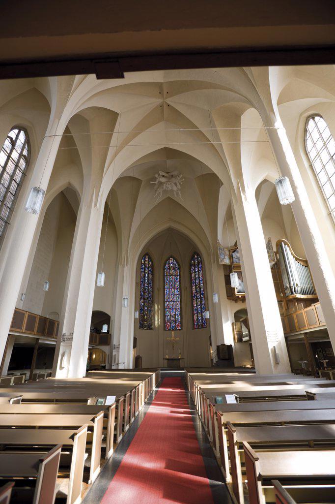 Stock Photo: 1815-46941 Germany, North Rhine-Westphalia, Bonn, Kreuzkirche, interior view