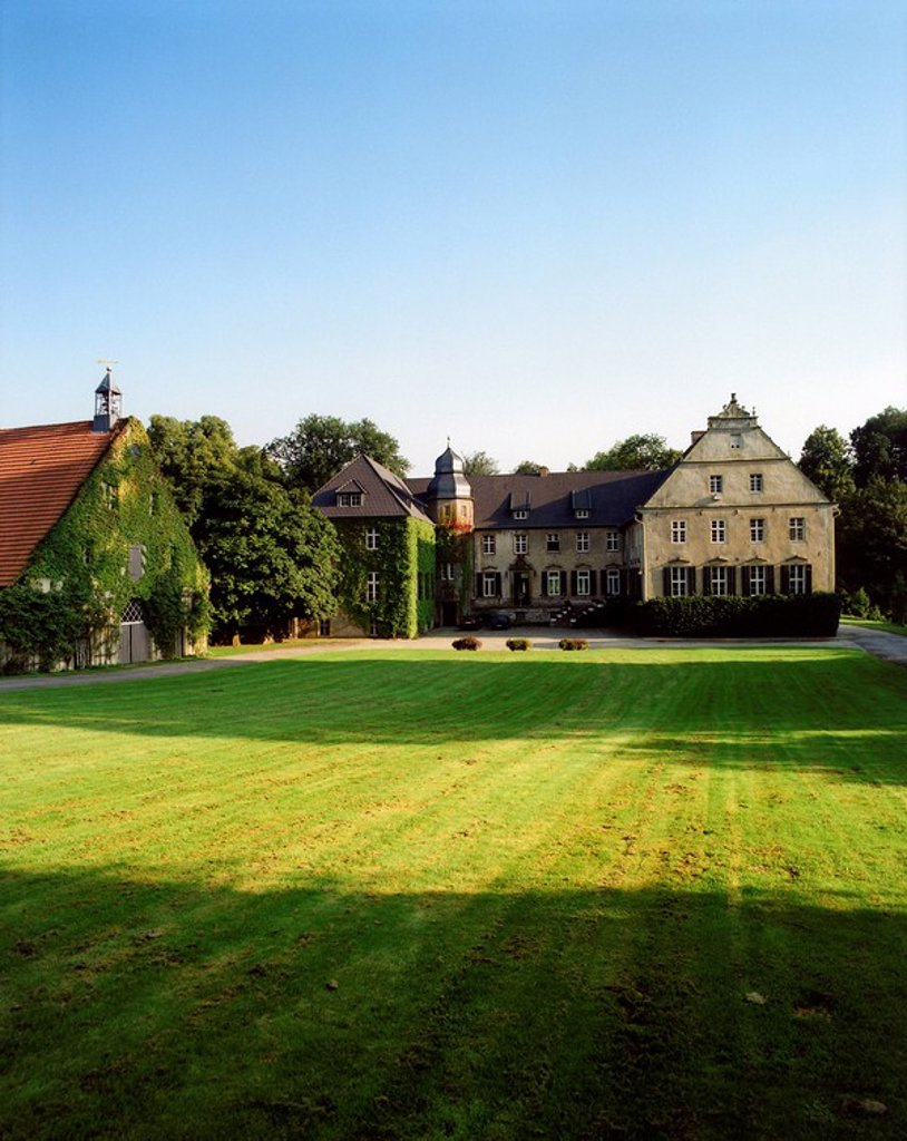 Stock Photo: 1815-49318 GGermany, Osnabruecker country, Gut Ostenwalde near Oldendorf