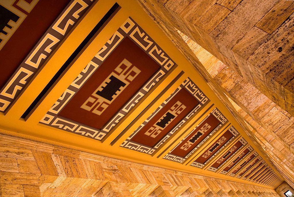 Stock Photo: 1815-88895 Turkey, Cappadocia, Ankara, Anitkabir, Mausoleum of kemal ataturk