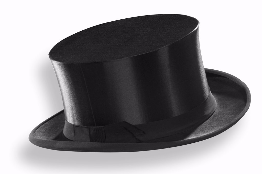 Top hat, close-up : Stock Photo