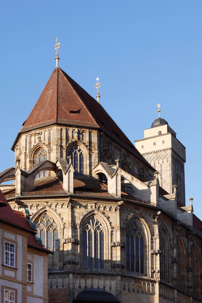 Stock Photo: 1815R-105901 Germany, Bavaria, Bamberg, View of church of our lady