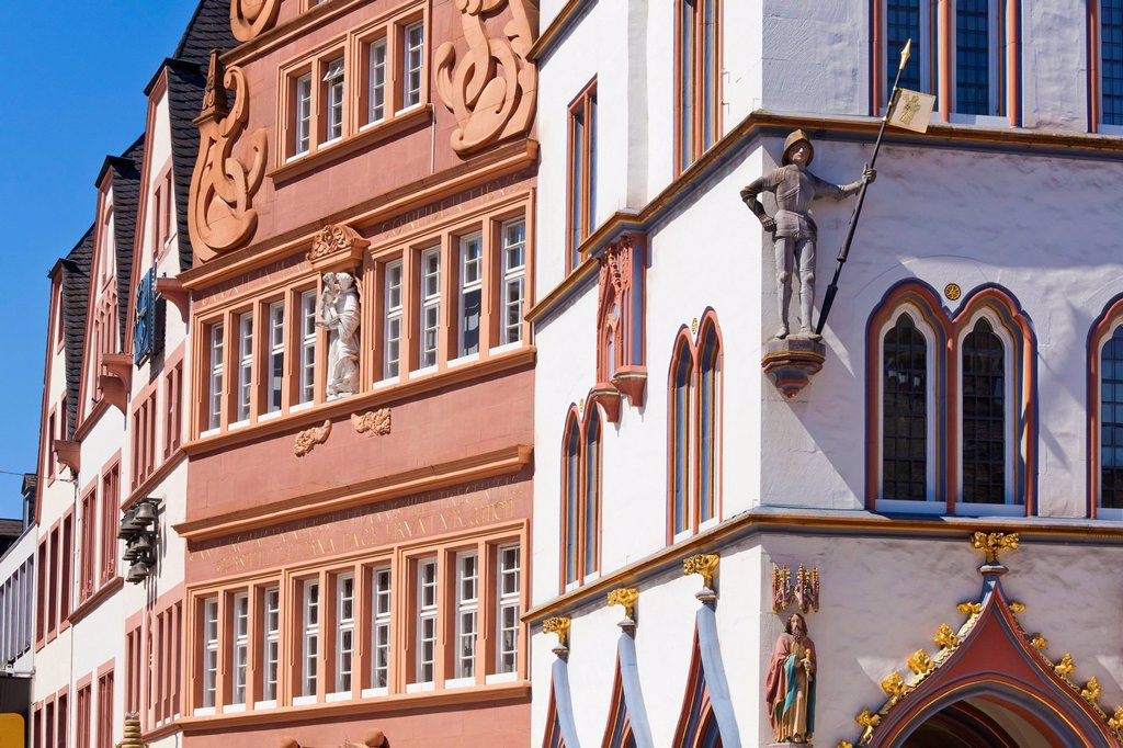 Stock Photo: 1815R-118807 Germany, Rhineland Palatinate, Trier, View of Steipe building