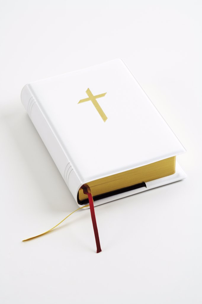 Stock Photo: 1815R-15146 Closed Bible, close-up