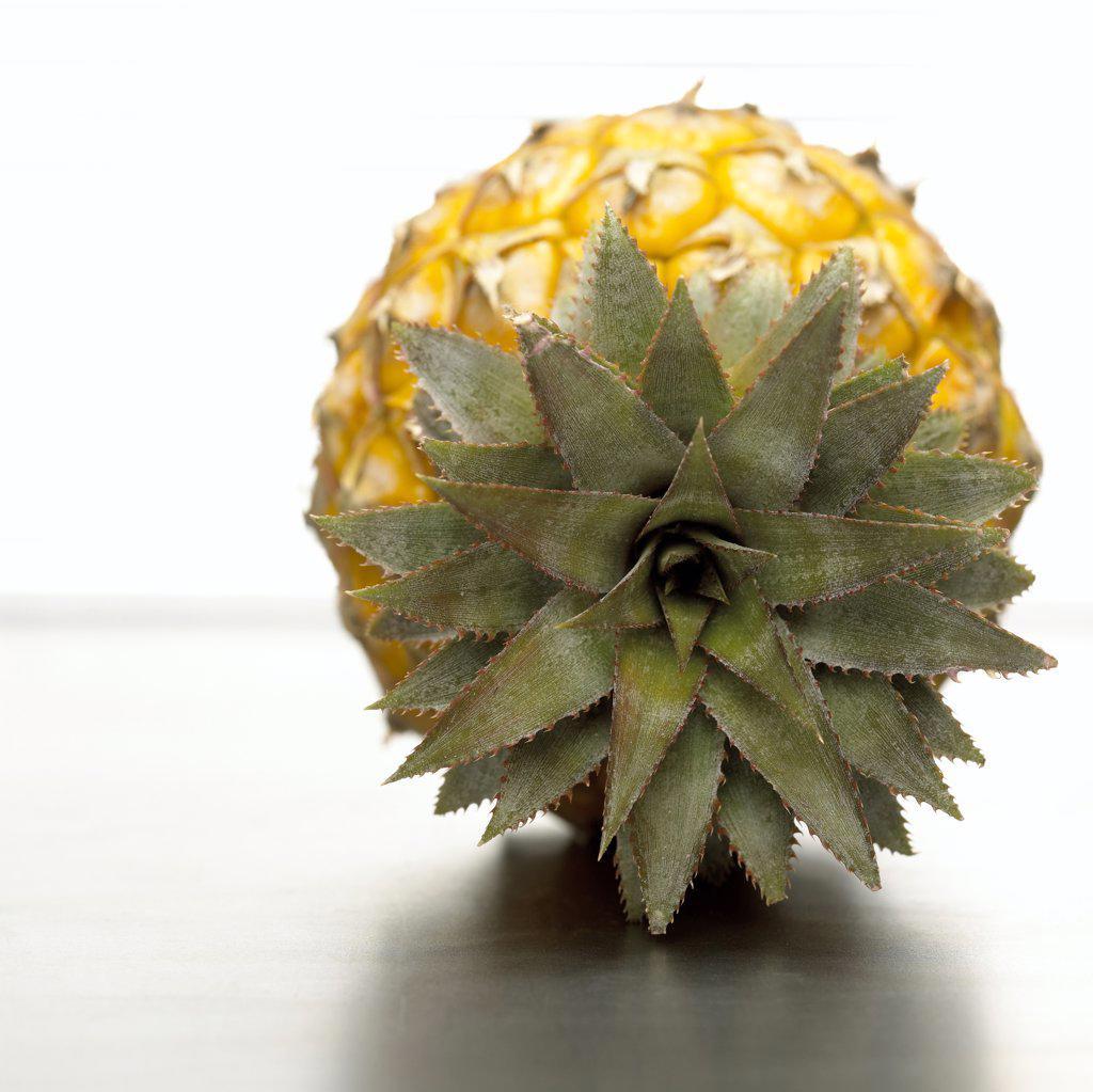 Pineapple, close-up : Stock Photo