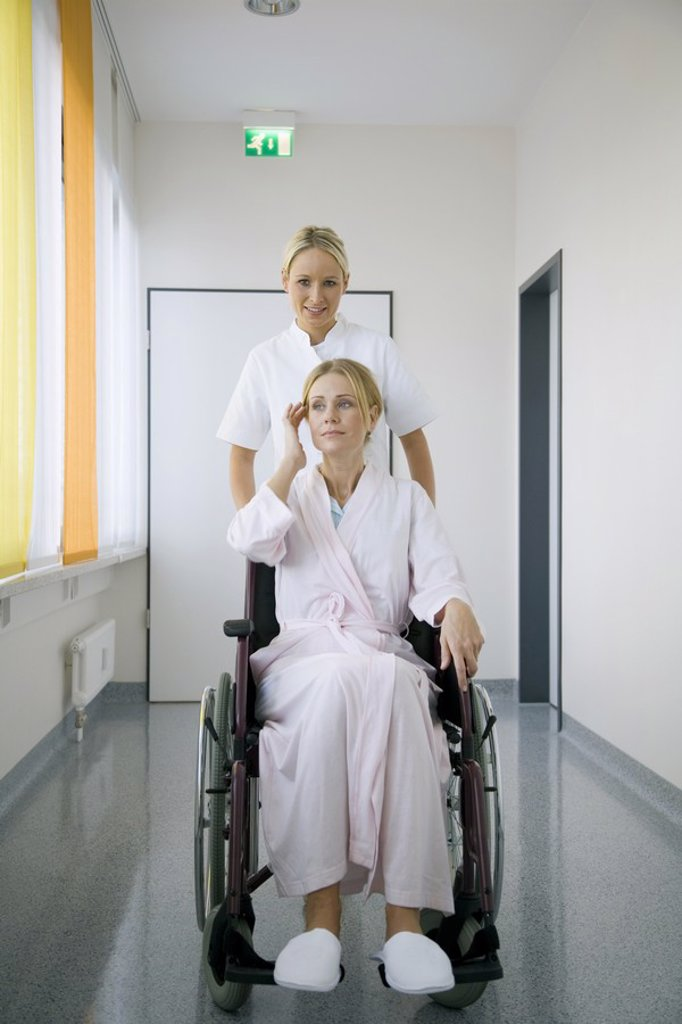 Nurse and patient : Stock Photo