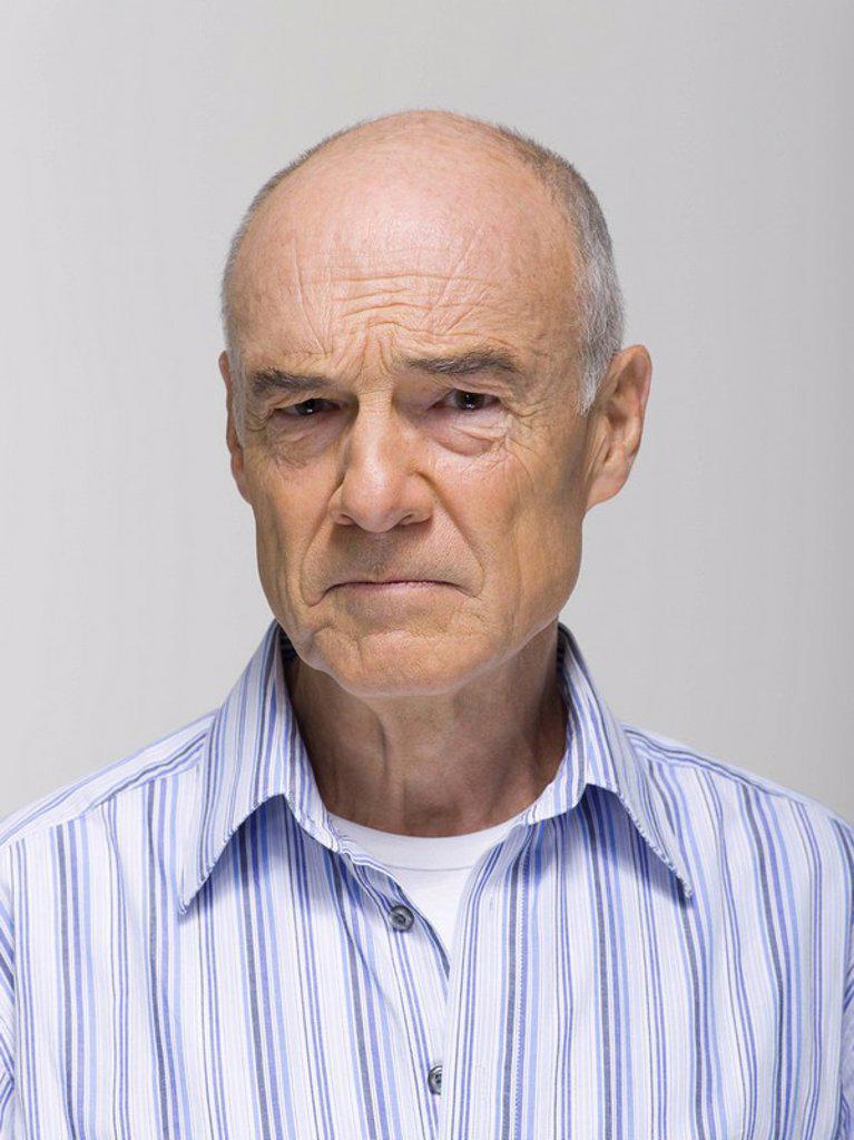 Stock Photo: 1815R-29946 Portrait of a senior man