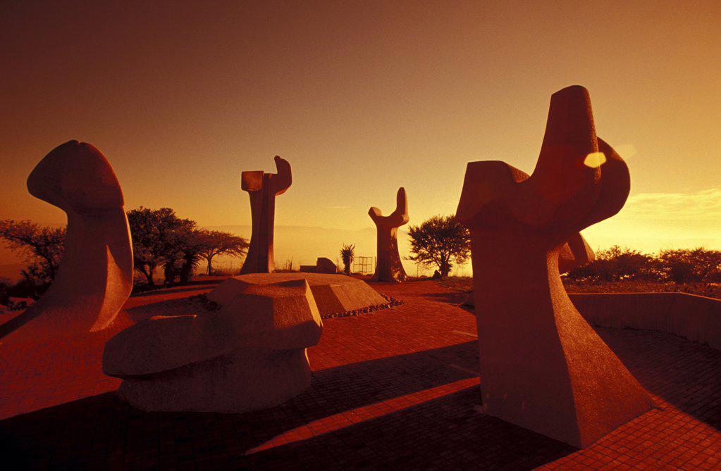 Burgher Memorial, battle between bures and british, Ladysmith, Kwazulu Natal, South Africa : Stock Photo