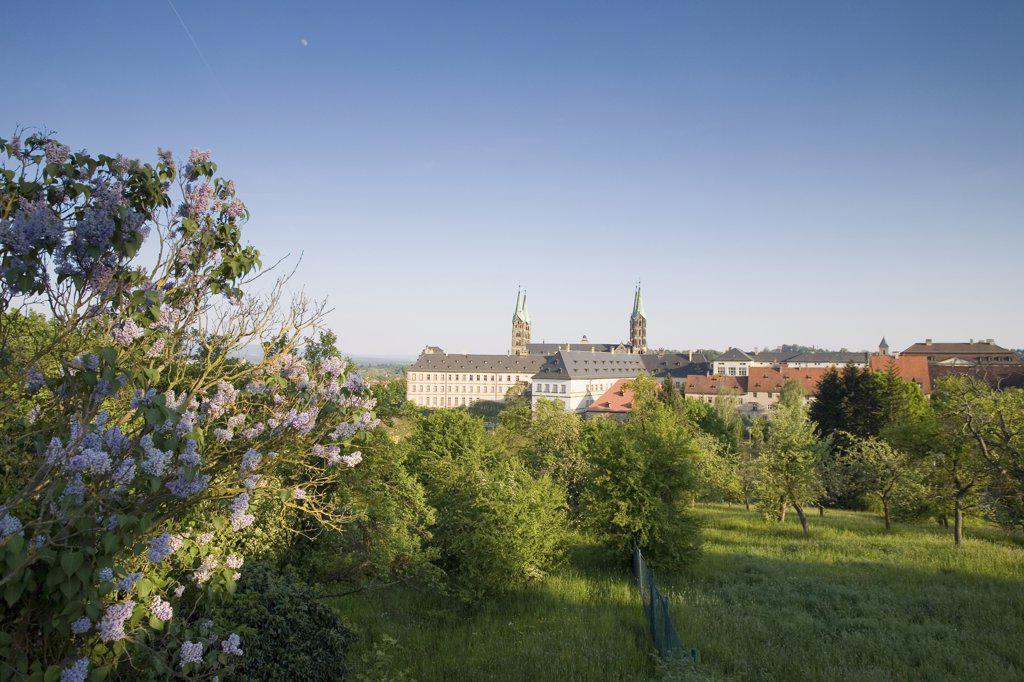 Stock Photo: 1815R-5735 Germany,Bamberg, Benedictine cloister St.Michael