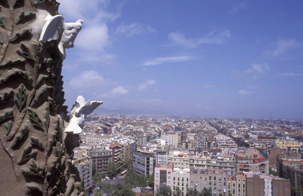 Sagrada Familia, Barcelona, Spain : Stock Photo