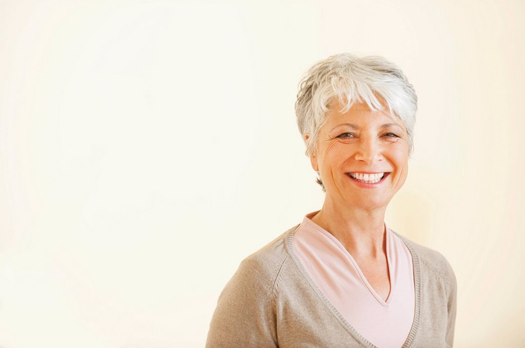 Stock Photo: 1815R-64858 Senior woman smiling, portrait