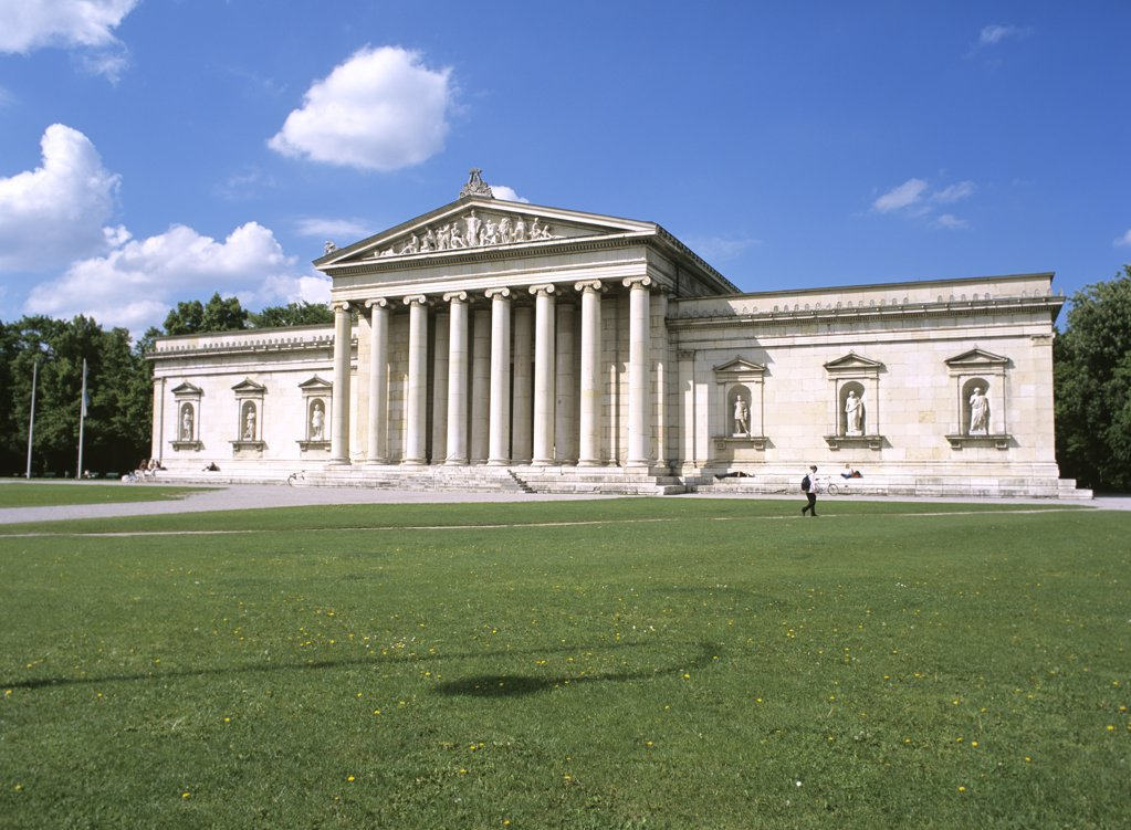 Stock Photo: 1815R-7043 Glyptothek, Munich, Bavaria, Germany