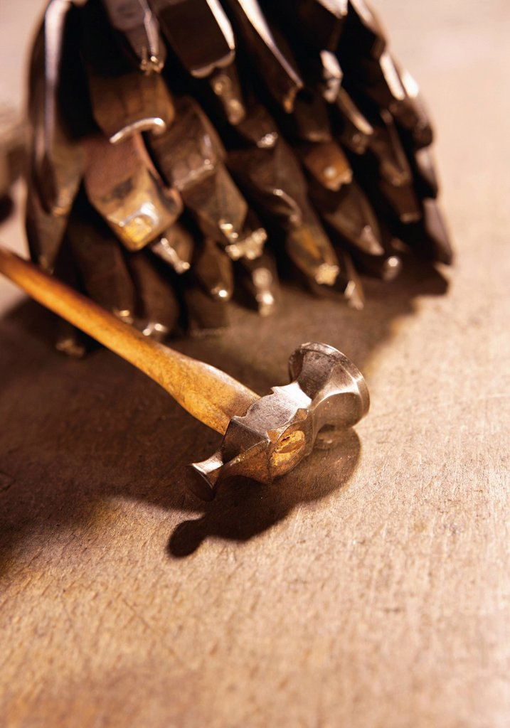 Stock Photo: 1815R-85312 Jewellery tools, close up