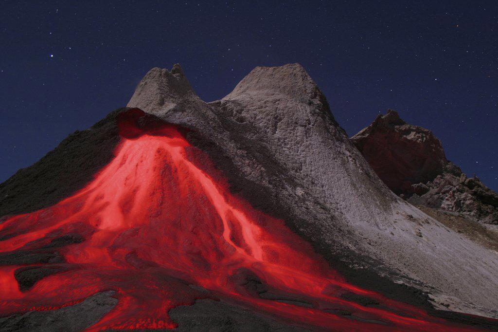 ol doinyo lengai - Tansania, eruption : Stock Photo