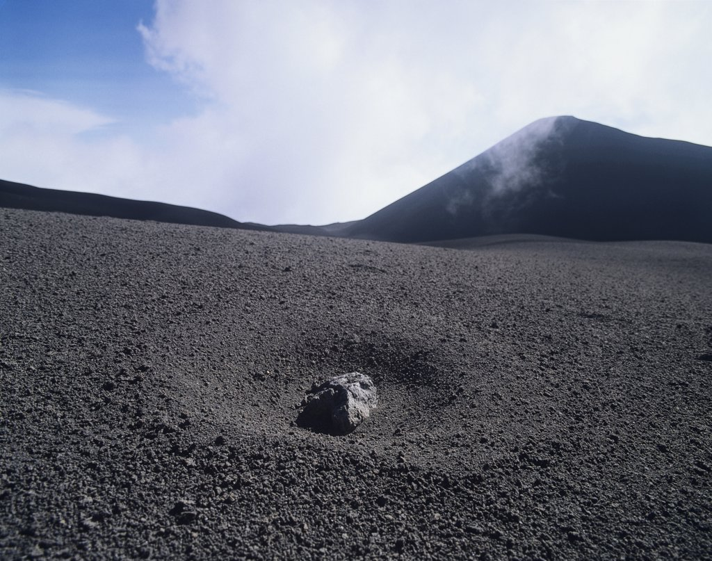 Stock Photo: 1815R-8918 Italy, Aetna, volcano