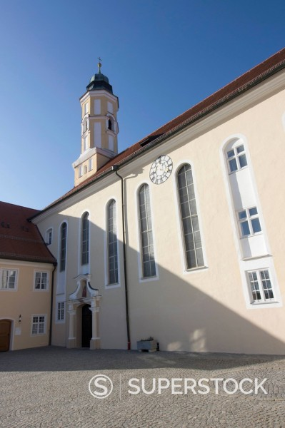 Stock Photo: 1815R-97589 Germany, Bavaria, Reutberg Abbey