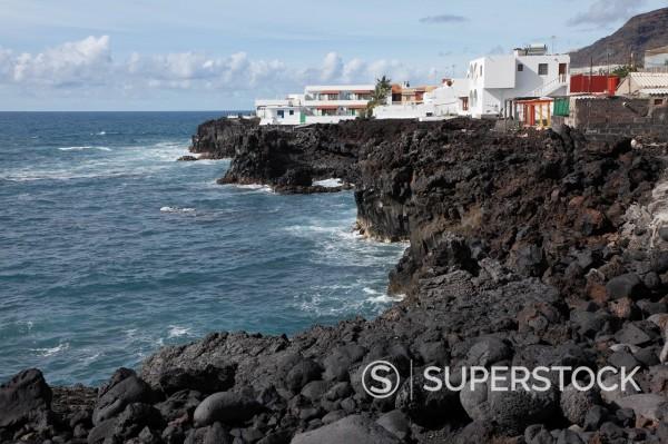 Stock Photo: 1815R-97904 Spain, La Palma, View of El Remo