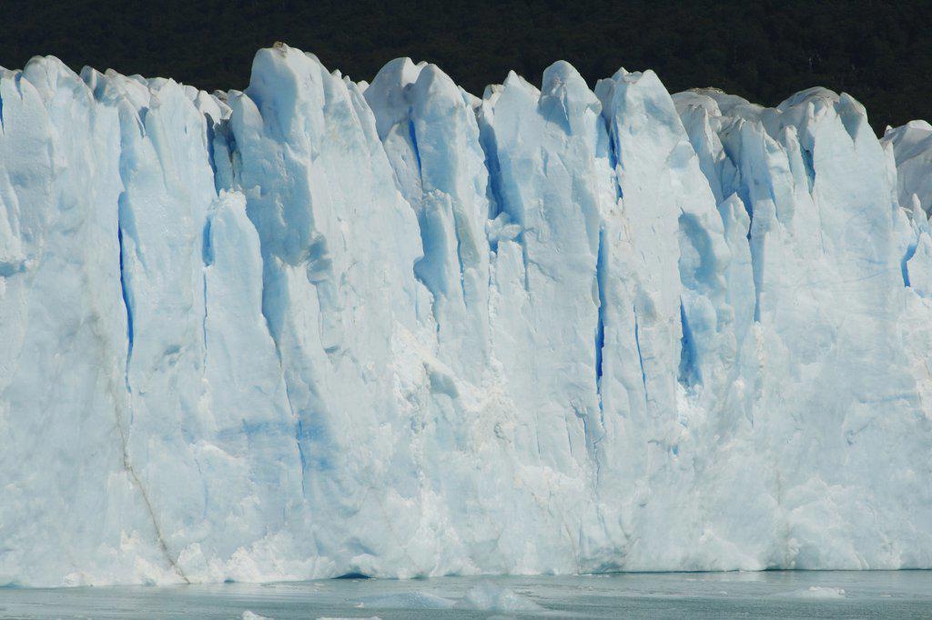 Stock Photo: 1818-376A Glacier face, Argentina