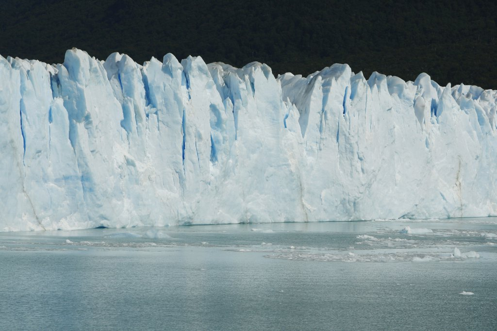 Stock Photo: 1818-376B Glacier face, Argentina