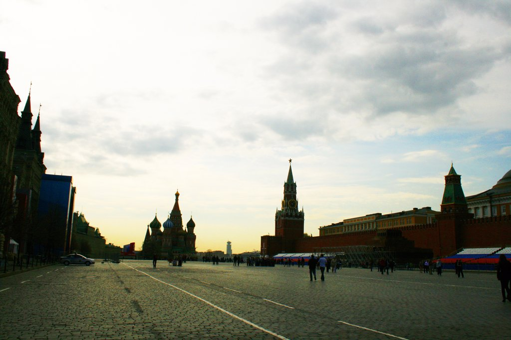 Russia, Moscow, Red Square : Stock Photo
