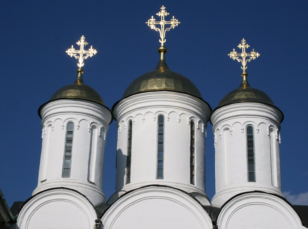 Russia, Yaroslavl, 12th century Monastery of Transfiguration of Our Savior : Stock Photo