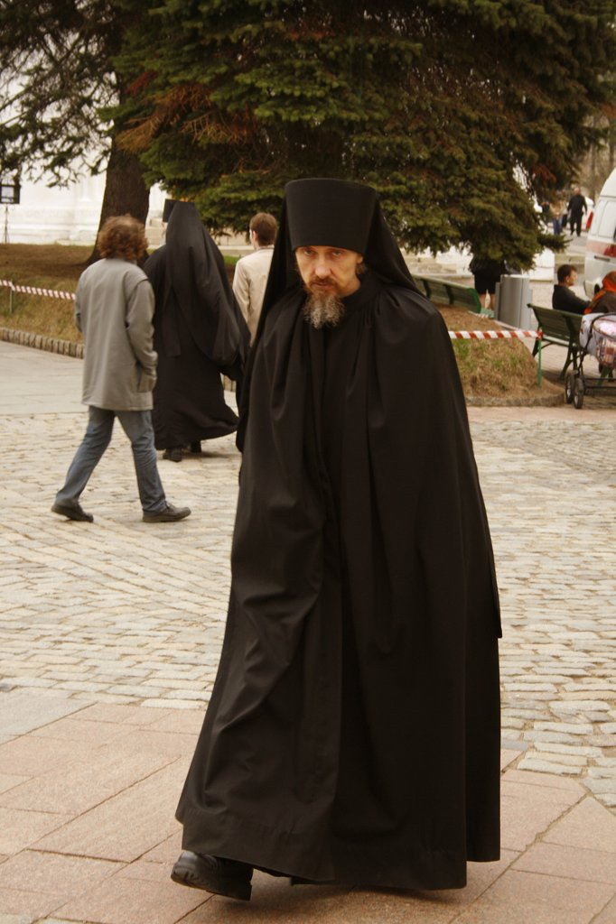 Stock Photo: 1818R-427 Russia, Orthodox priest