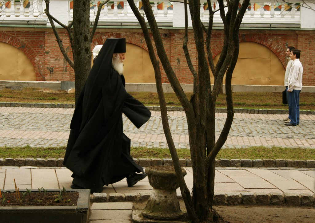 Stock Photo: 1818R-434 Russian orthodox patriarch