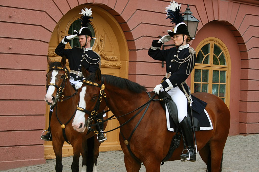 Stock Photo: 1818R-439 Sweden, Stockholm, Royal guards