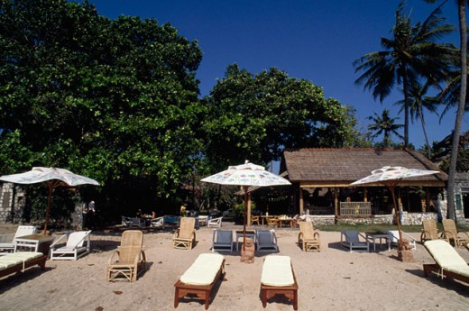Stock Photo: 182-1474A Tanjung Sari Hotel, Sanur Beach, Bali, Indonesia