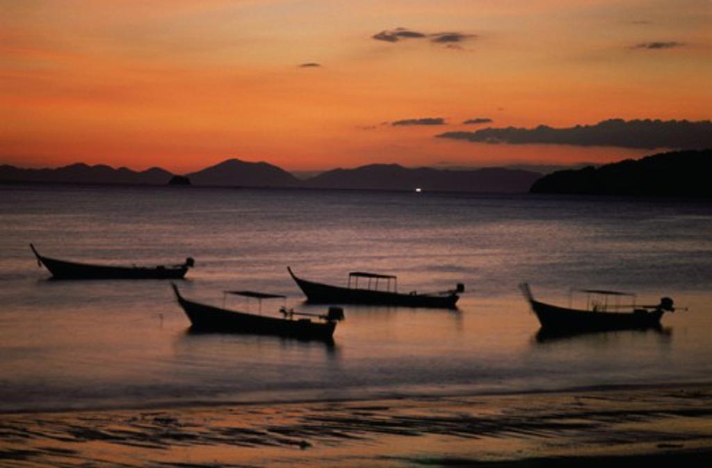 Stock Photo: 182-2177A Phara Nang Bay Krabi Thailand
