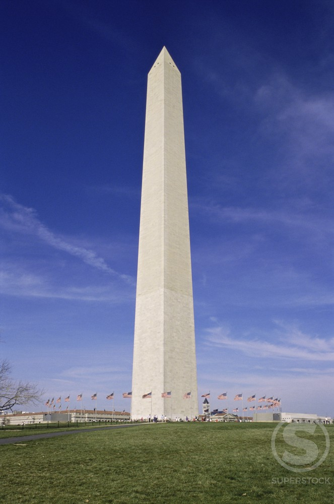 Stock Photo: 182-2821A Washington Monument