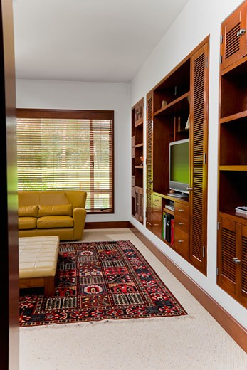 Stock Photo: 1825-1556 Interiors of a living room