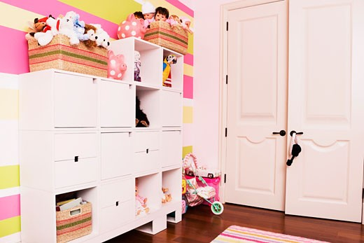 Interiors of a kid room : Stock Photo