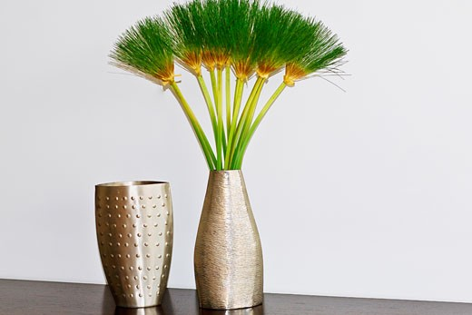 Close-up of vases : Stock Photo