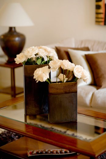 Stock Photo: 1825-2142 Interiors of a living room