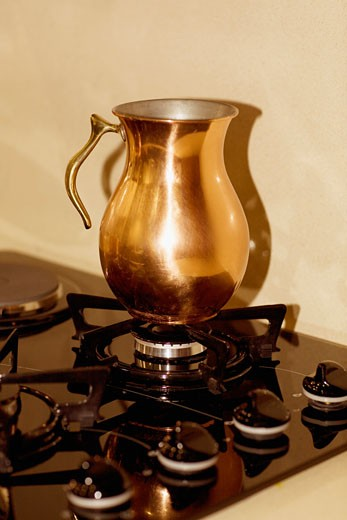 Stock Photo: 1825-2576 Jug on a stove