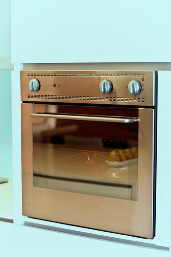 Stock Photo: 1825-2884 Close-up of an oven in the kitchen