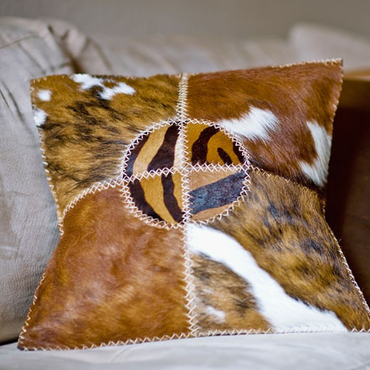 Stock Photo: 1825-2993 Close-up of cushions on a couch