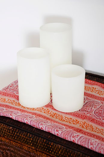 Close-up of candles : Stock Photo
