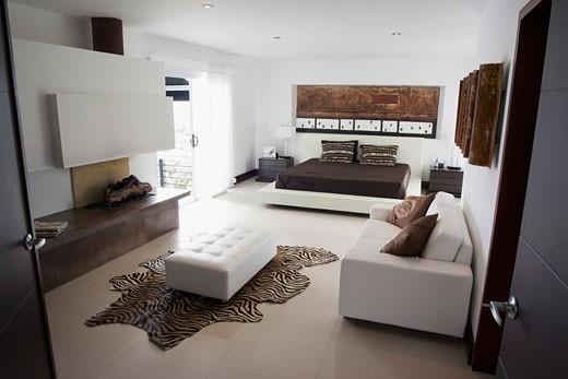 Interiors of a loft apartment : Stock Photo