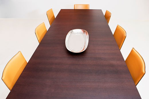 Stock Photo: 1825-3249 Interiors of a dining room