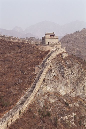 Stock Photo: 1828R-11051 Great Wall of China, China