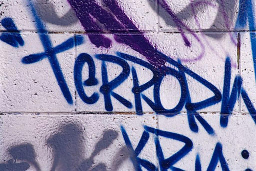 Graffiti on Wall    : Stock Photo