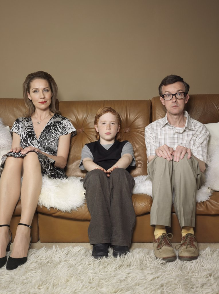 Stock Photo: 1828R-13266 Portrait of Family