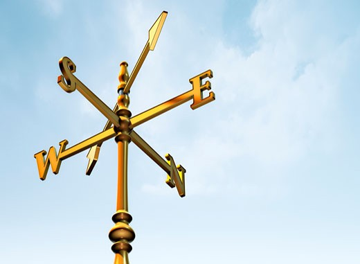 Stock Photo: 1828R-14102 Weather Vane