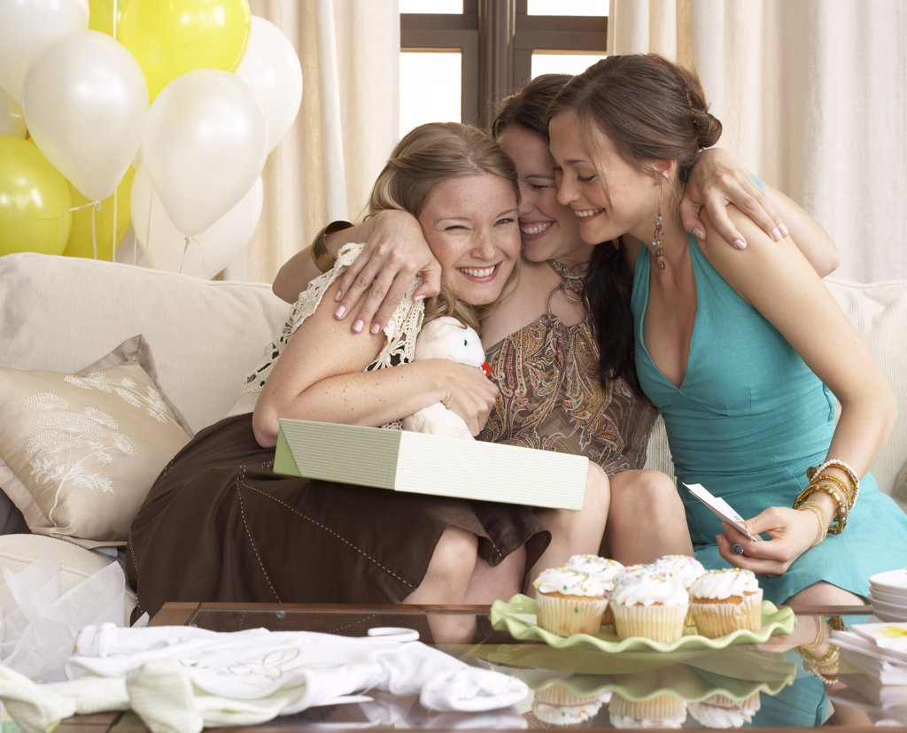 Women at Baby Shower    : Stock Photo