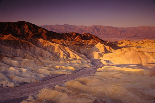 Stock Photo: 1828R-1624 Death Valley, California, USA