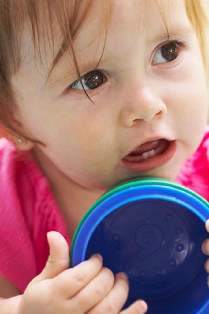 Stock Photo: 1828R-16791 Portrait of Baby