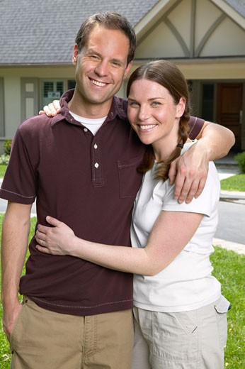 Stock Photo: 1828R-17121 Portrait of Couple