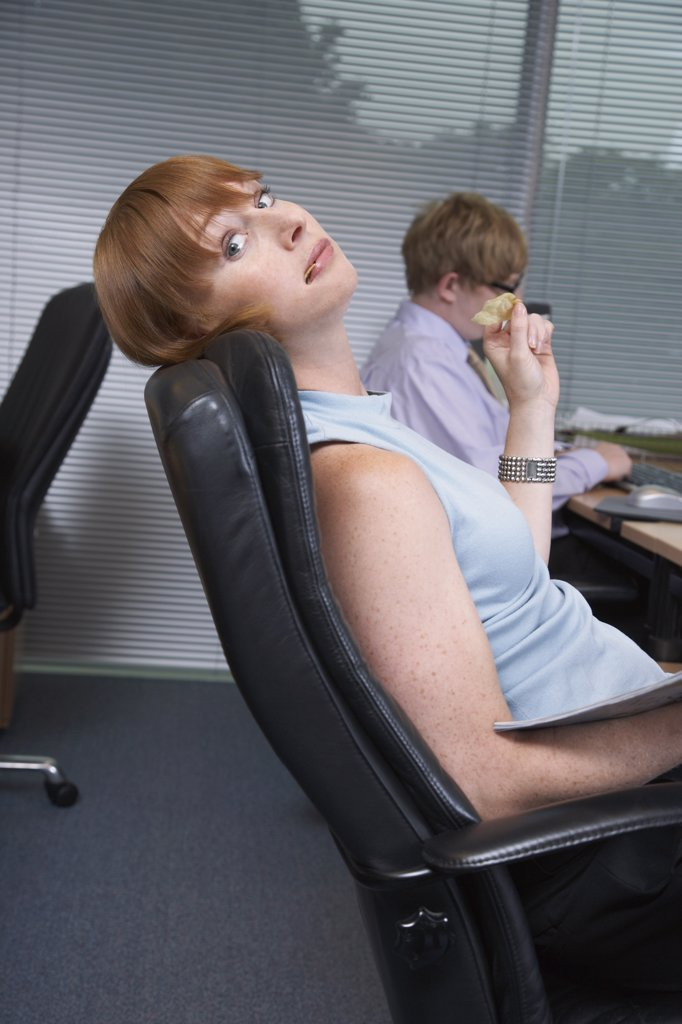 Stock Photo: 1828R-17284 Business People in Office