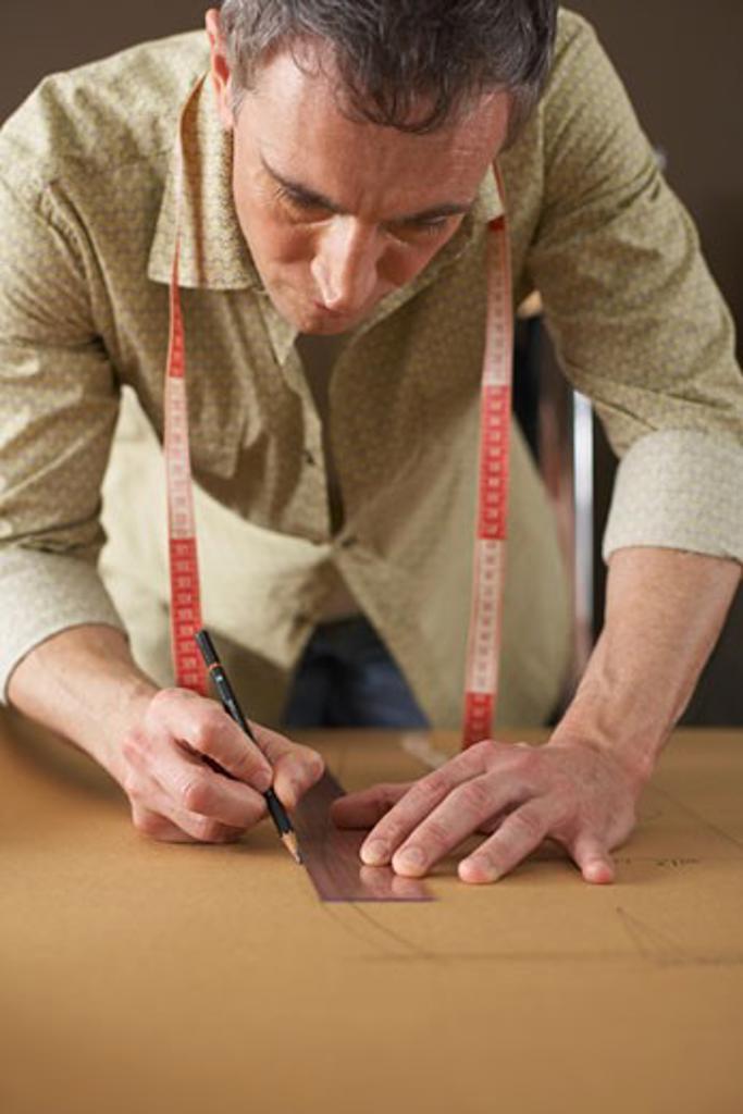 Man Drawing    : Stock Photo